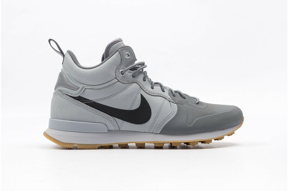 NIKE AIR INTERNATIONALIST UTILITY MID  WOLF GREY SZ 7 857937-002
