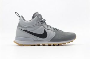 super popular 3fe41 9251c Image is loading NIKE-AIR-INTERNATIONALIST-UTILITY-MID-WOLF-GREY-SZ-
