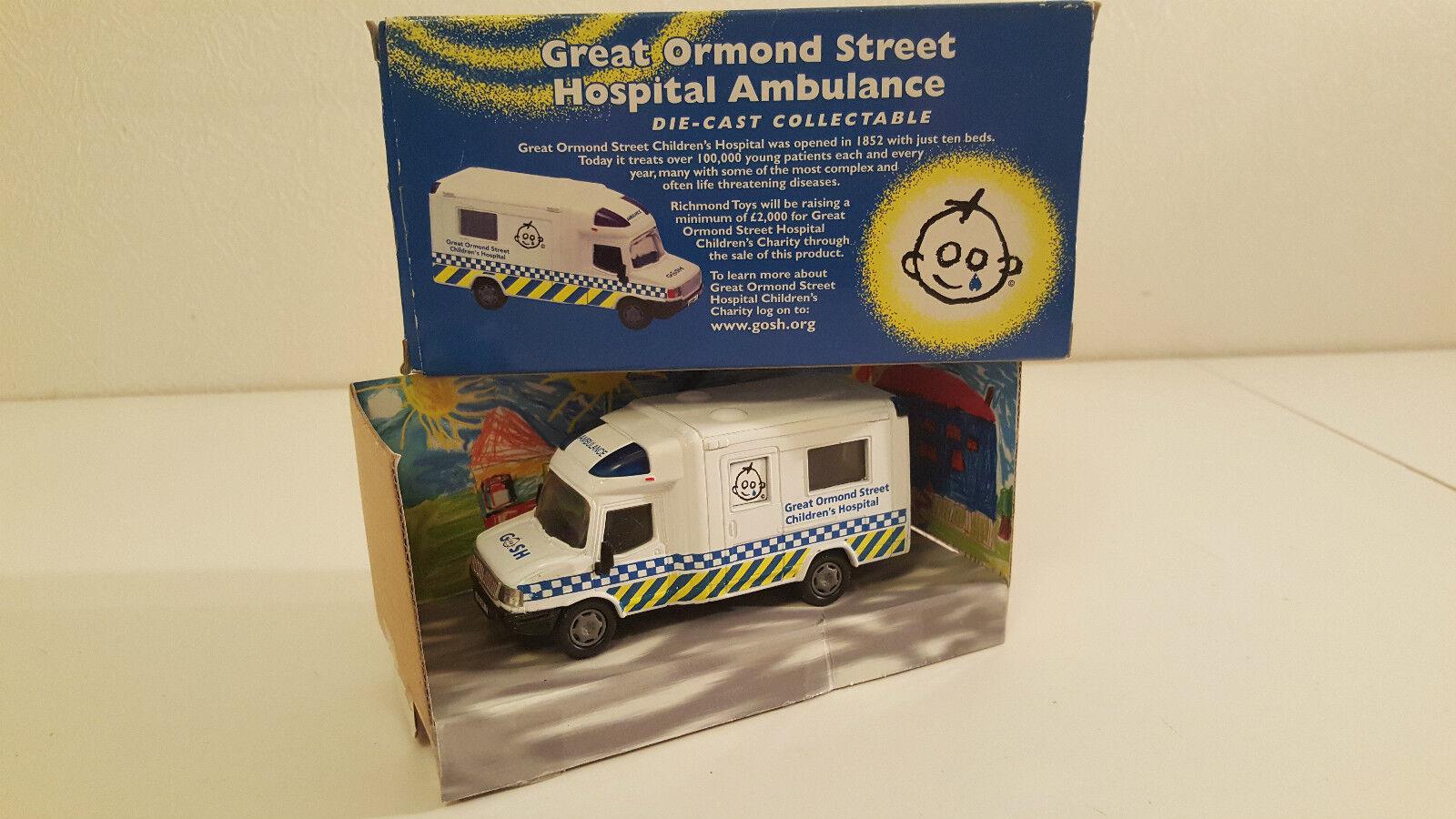 Richmond Toys Toys Toys - GOSH Ambulance (Great Ormond Street Hospital) Série limitée 1 43 a427ad