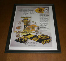 STEELERS MYRON COPE FRAMED TERRIBLE TOWEL AD PRINT