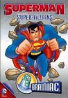 Superman Super Villains Brainiac 0883929261215 DVD Region 1