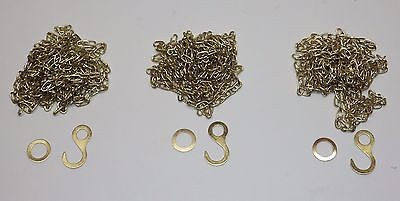 "Replacment Cuckoo Clock Chain for Regula 34 8 day 48 links per foot 78/"" Length"
