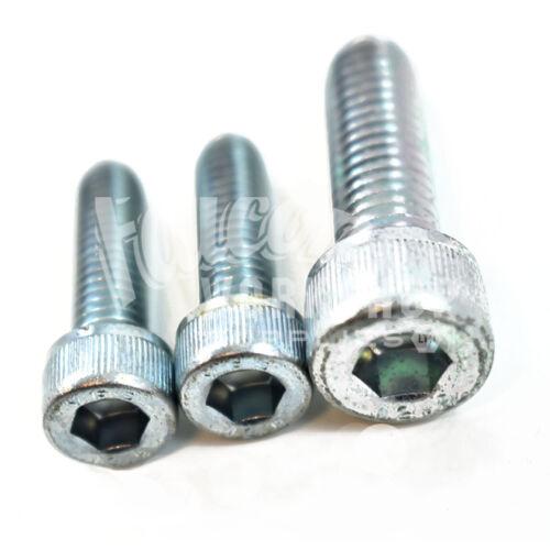 10mm Zinc Tapa De Enchufe Tornillos//Pernos de grado 12.9 de rosca métrica M10