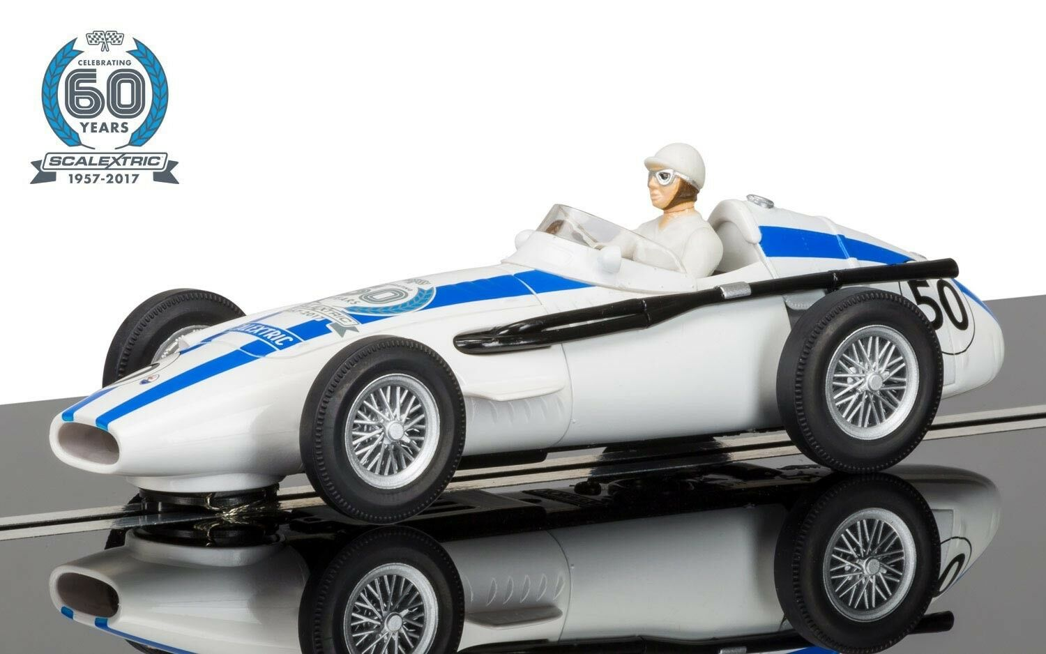 SCALEXTRIC Slot Car C3825A   Maserati 250F