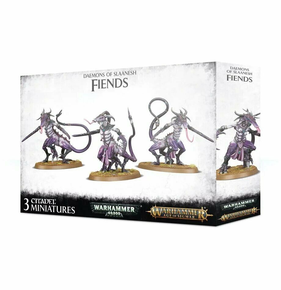 Warhammer Daemons of Slaanesh Fiends New