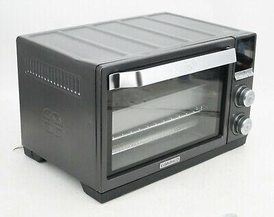 Calphalon TSCLTRDG1-BKR Quartz Heat Countertop Oven Dark ...