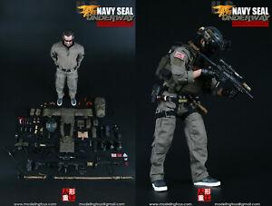 Male Head Sculpt Navy Seal 1//6 scale toy U.S Boarding Unit