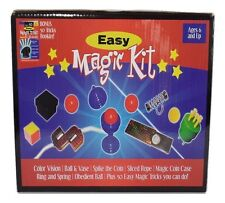 Easy Magic Kit Trick Set Beginner Starter Collection Kids Magician Gift Toy Game