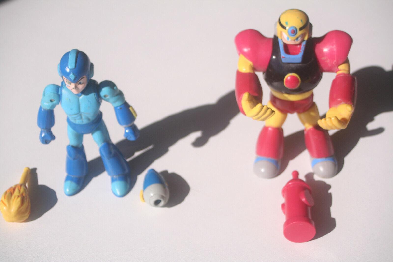 Mega Man Action Figures 1994 Lot Lot Lot Mega Man + Guts Man Vintage 6dc69c
