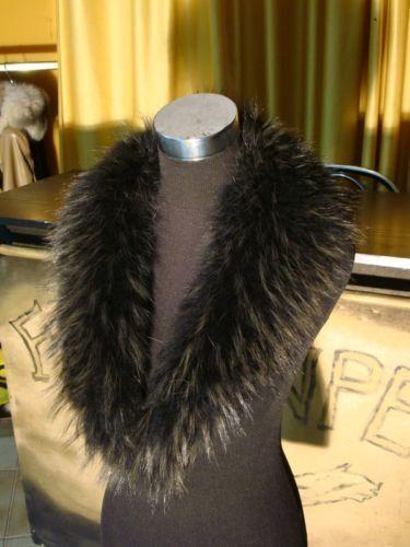 Collo in di  pelliccia gris per giacca  di pelle  venta al por mayor barato