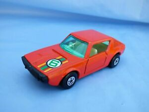 VINTAGE-1974-MATCHBOX-SUPERFAST-N-62-RENAULT-17-TL-Red-Diecast-Auto-Giocattolo