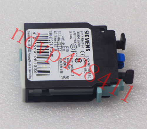 Siemens 3RH1921-1CA10 Auxiliary Contact 10A 240V