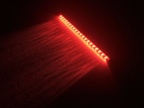 GEBOlight LED Leiste rot  IP44 passend für Wasserfallschale 90 cm breit Waterfal