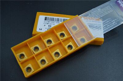 NEW 10pcs  CCMT09T308 US735 CCMT 32.52 Carbird Inserts CNC blade