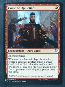 Curse of Opulence - Mtg Magic Card #TP