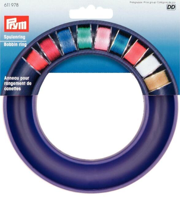 Nähmaschinen - Spulenring für ca. 20 Spulchen Spulen Ring Prym 611978 Spulendose