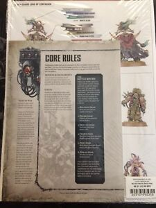 Details about WHMS Warhammer 40k 8th edition Core Rule book new current  rules Dark Imperium