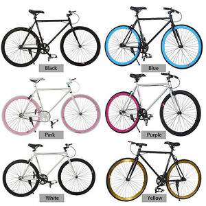 26inch fixed gear single speed fixie bike road bicycle high tensile