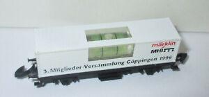 Maerklin-Z-Sondermodell-MHI-Goeppingen-1996-034-Augewogene-Partnerschaft-034-gt-Neuw-OVP