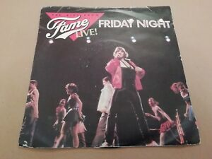 THE-KIDS-FROM-FAME-FRIDAY-NIGHT-LIVE-7-034-SINGLE-P-S-1983-EX-VG