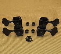 Hb5-b Hipshot Usa 2+2 Black Bass Tuners For Rickenbacker Bass