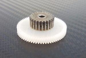 Roue dentée en nylon pour motoréducteur poêle à granulés Mellor KB1008 FB1180