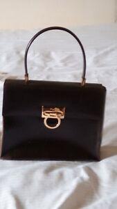 Image is loading Vintage-Salvatore-Ferragamo-Top-Handle-Kelly-Bag 9a3d3771c4519