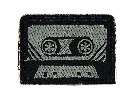 80/'s Nostalgia Cassette Tape Patch Iron on Applique Alternative Clothing