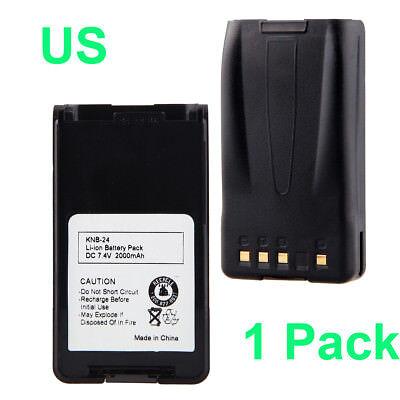 1200mAh 7.4V Ni-CD Battery for KENWOOD KNB-24L KNB-35L KNB-55L KNB-57L TK-2148
