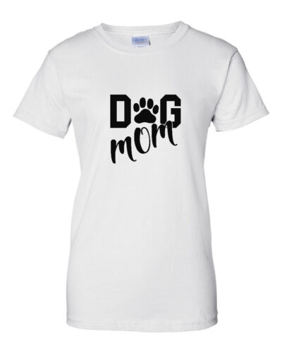 Dog Mom T-Shirt Mom Of Dogs Pet Lover Gift Ideas Mothers Day Tee Mother Shirt