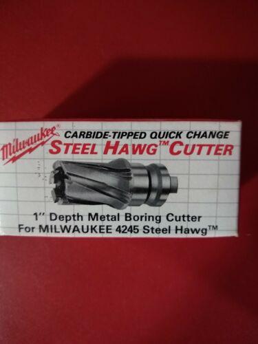 Milwaukee 49-57-0689 Steel Hawg 11//16-Inch Diameter 1-Inch Depth Tang Drive