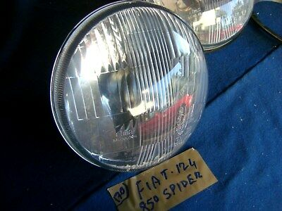 FANALI FIAT 850 BERLINA COPPIA FRECCE ANTERIORI AU-CO TRASPARENTE BIANCO