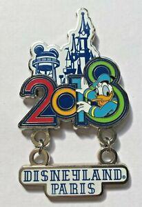 Disney-Pin-Badge-DLP-Donald-Duck-Castle-Icon-2018
