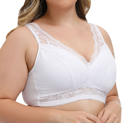 Women Lace Bra Underwear Boobs Brassiere Bralette Undies Lingerie D DD E F G