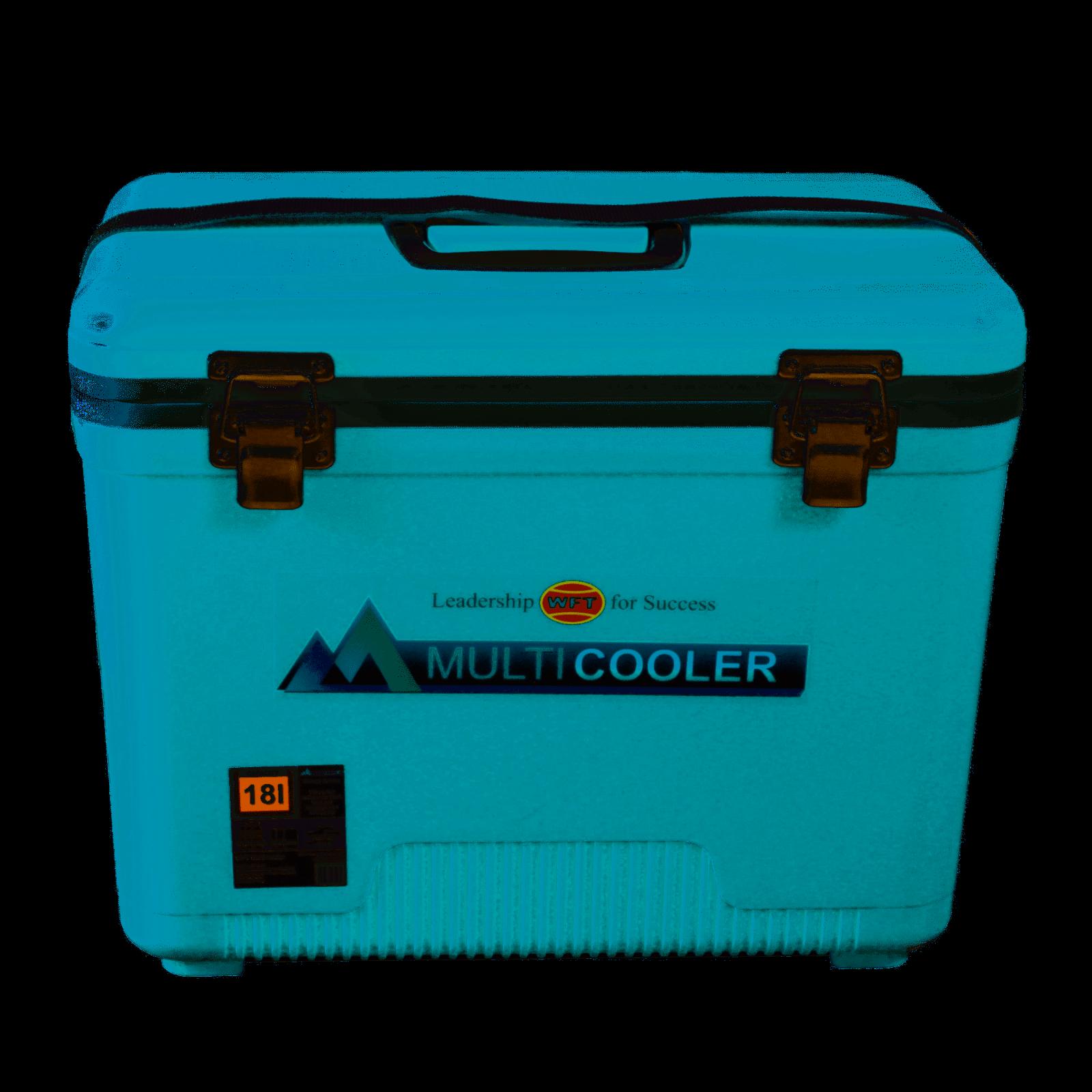 WFT Multicooler 18 L Blau Kühlbox