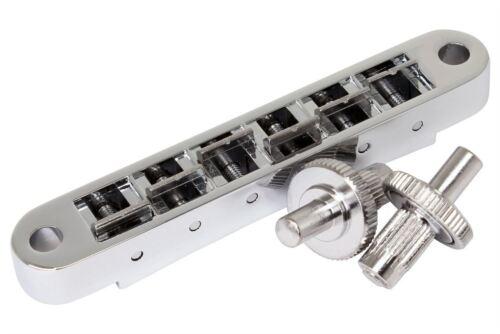 Tune-o-Matic Nashville Bridge Chrome MADE IN USA fits Gibson® Les Paul//SG//ES335