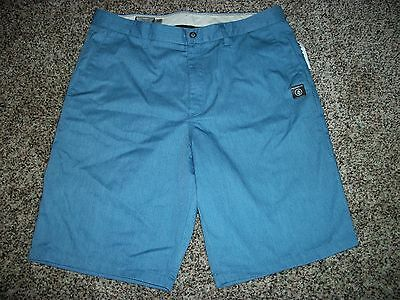 VOLCOM STONE New NWT Mens Walk Shorts Casual Blue Chino 30 32 34 36