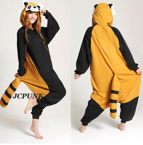 New hot Kigurumi Pajamas Anime Cosplay Costume unisex Adult Onepiece Dress