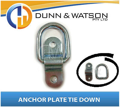 Small Tie Down x 1 Caravan Horse Float Drawer System Camper Trailer Anchor Plate