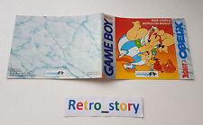 Nintendo Game Boy Astérix & Obélix Notice / Instruction Manual