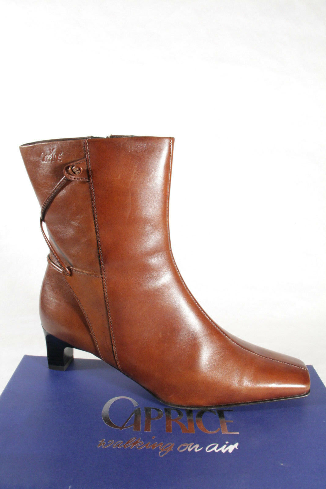 Caprice Women's Boots Brown Genuine Leather NEW