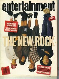 Entertainment Weekly August 21, 1992  Red Hot Chili Peppers Howard Stern
