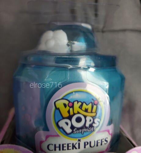 LOT OF 3 PIKMI POPS SURPRISE CHEEKI PUFFS~INCLUDES 2 SMALL /& 1 MEDIUM~AGE 5+~NEW