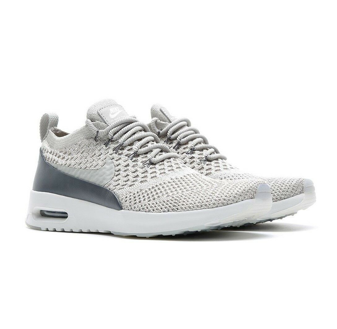 Nike Air Max Thea Ultra FK Flyknit Pale Grey [881175 005] Size 6.5