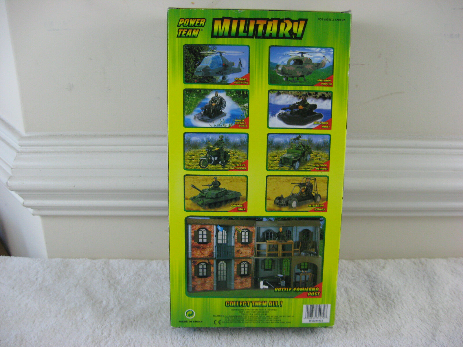 Power Team Military 12  Delta Force Action Action Action Figure-New 3cf836