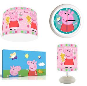 P about Details ShadeLampClockCanvas ROOM Bundle PINK PIG Light PEPPA ArtFREE P RAj4L35q