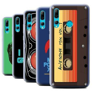 Gel-TPU-Case-for-Huawei-P-Smart-2019-Honor-20-Lite-Guardians-Comic-Inspired