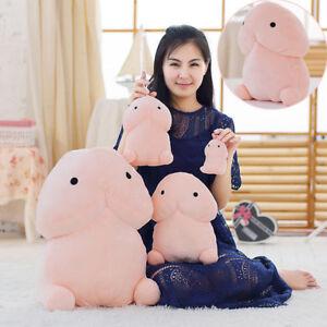 Creative-Penis-Ding-Ding-Soft-Pillow-Stuffed-Plush-Doll-Bolster-Kids-Xmas-Gift