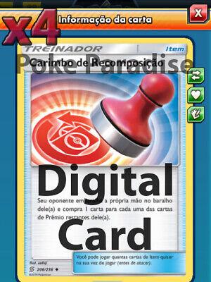 Reset Stamp 4X Pokemon TCG Online PTCGO 206//236 DIGITAL CARD FAST