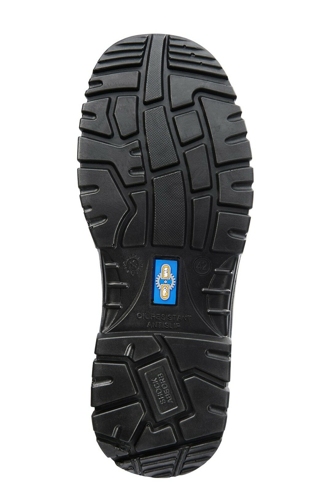 ROCK Fall Uomo Pro AUSTIN S3 nero metallo libero con punta composita